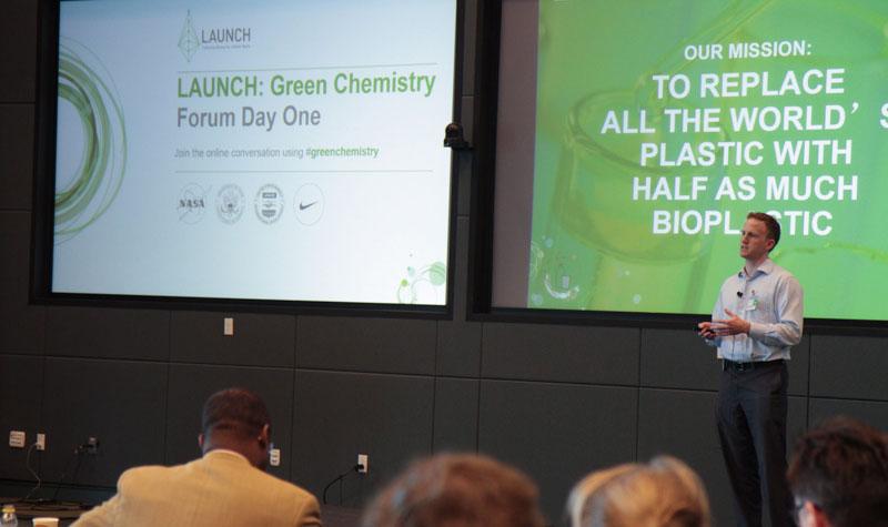 LAUNCH Innovator Green Chemistry Bioplastic