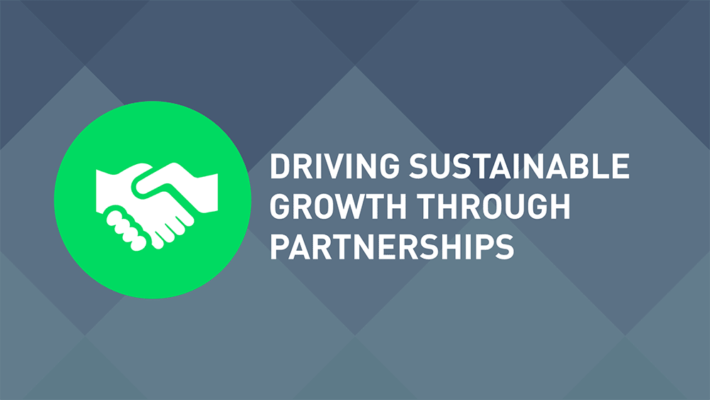 Driving Sustainable Growth Through Partnerships