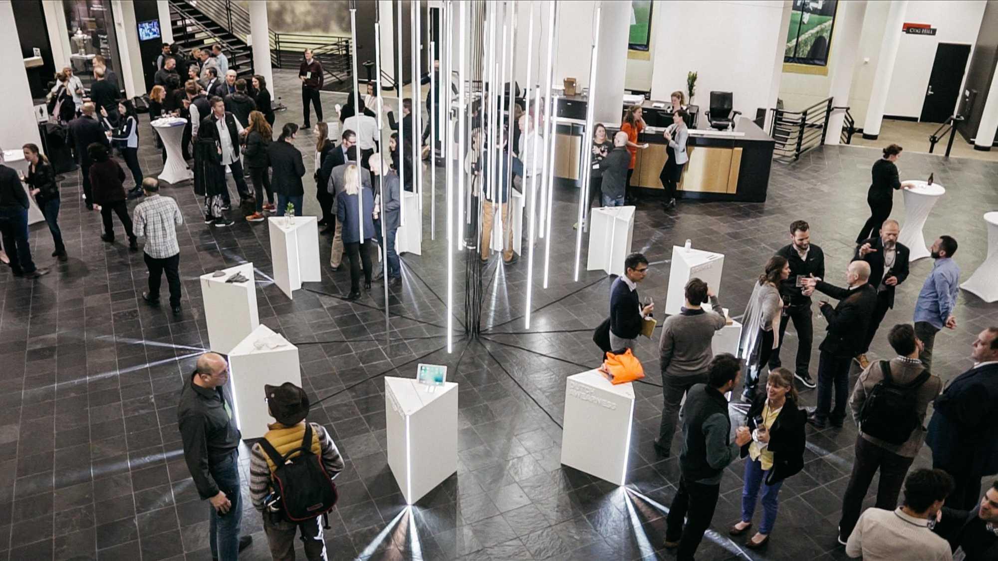 LAUNCH Circular Innovation Summit at Tiger Woods Auditurium Innovator Showcases