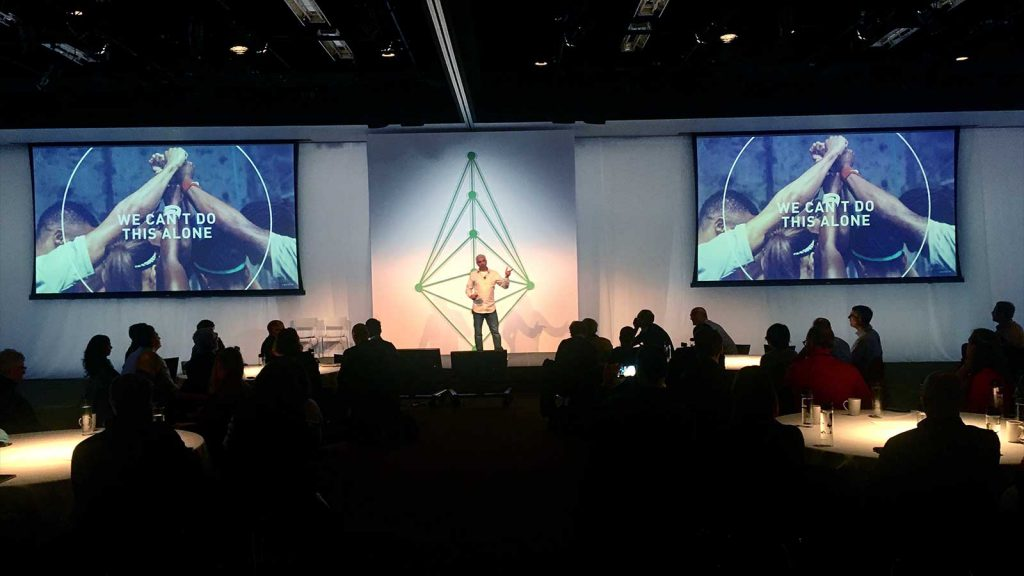 Cyrus Wadia opening Summit Nike HQ