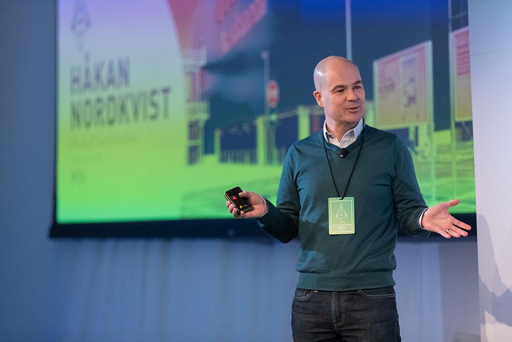 Haakan Nordkvist, IKEA opening the LAUNCH Circular Innovation Summit at Nike HQ