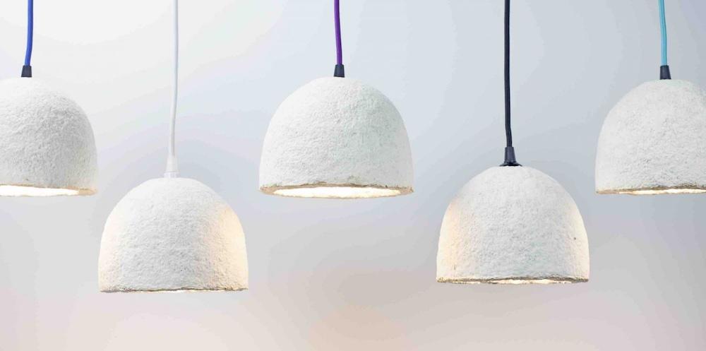 Ecovative Lamp